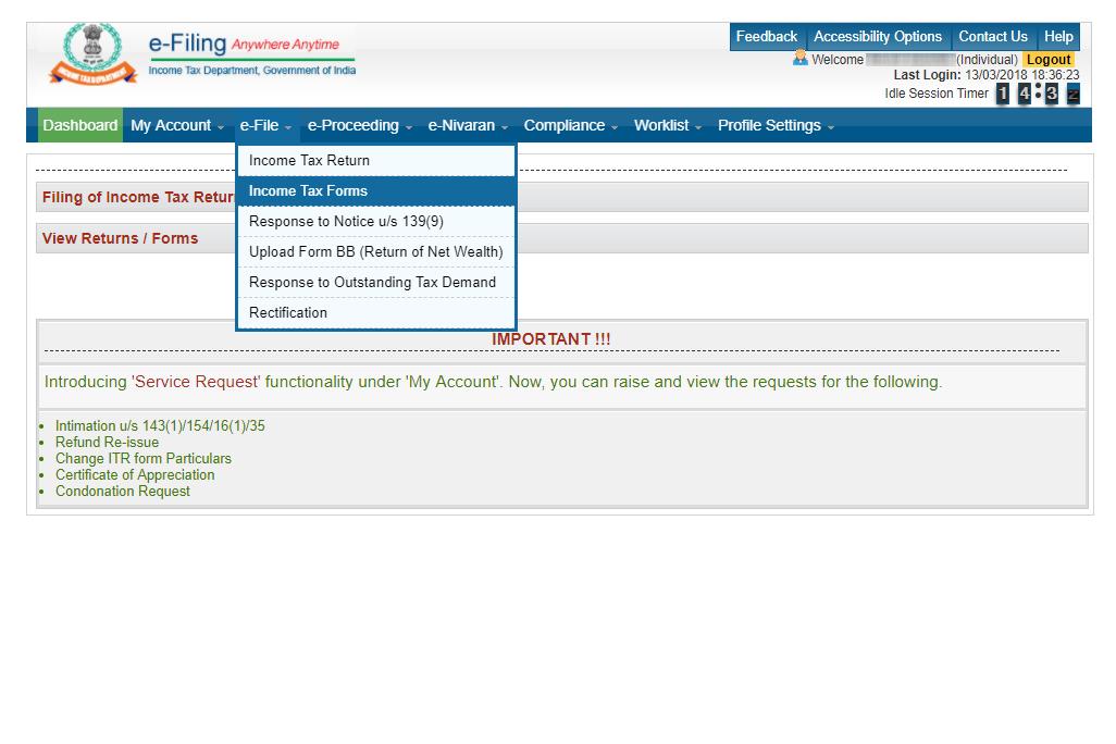 Process to file form 10E