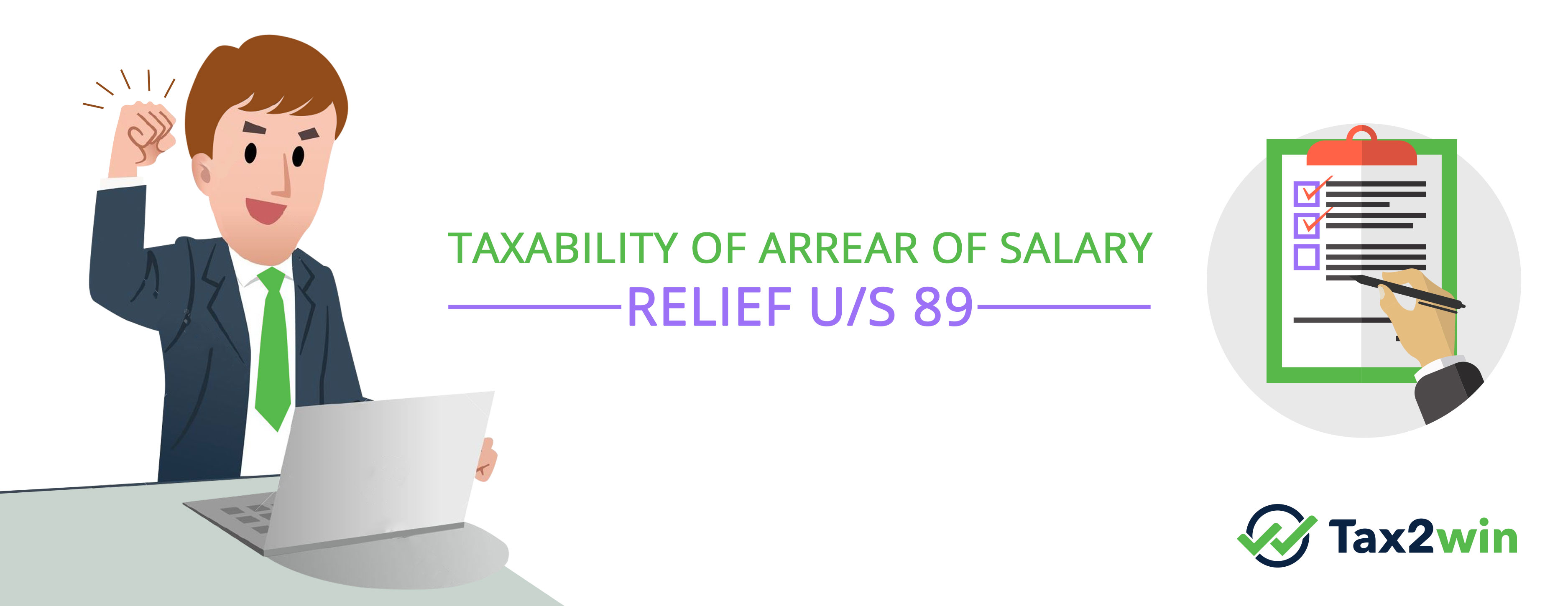 Taxability of Arrear of Salary – Relief u/s 89