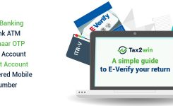 A simple guide to E-Verify your return!