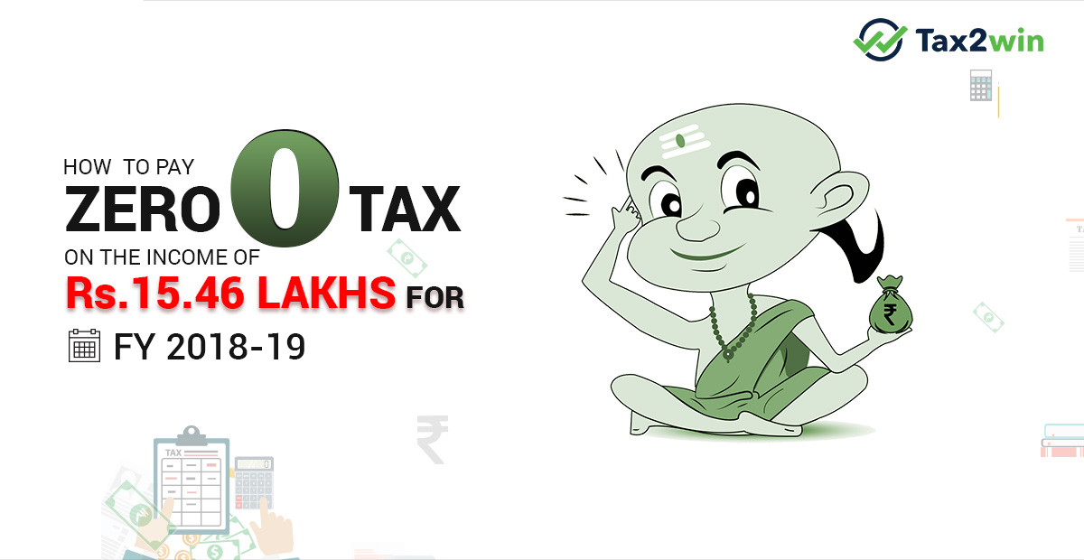 How To PAY ZERO TAX on Income of 15.46 lakhs in 2017-18? -THE VIDURA WAY!