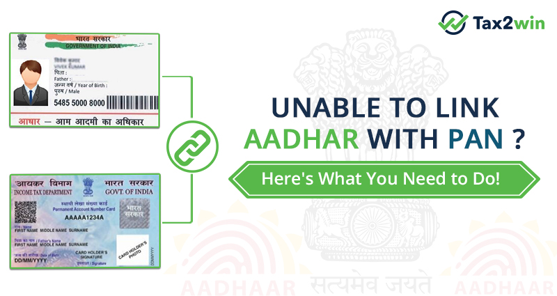link PAN with aadhar