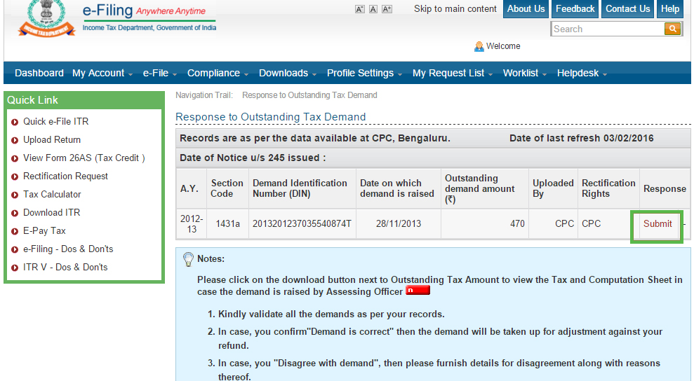 www.incometaxindia efiling.gov.in