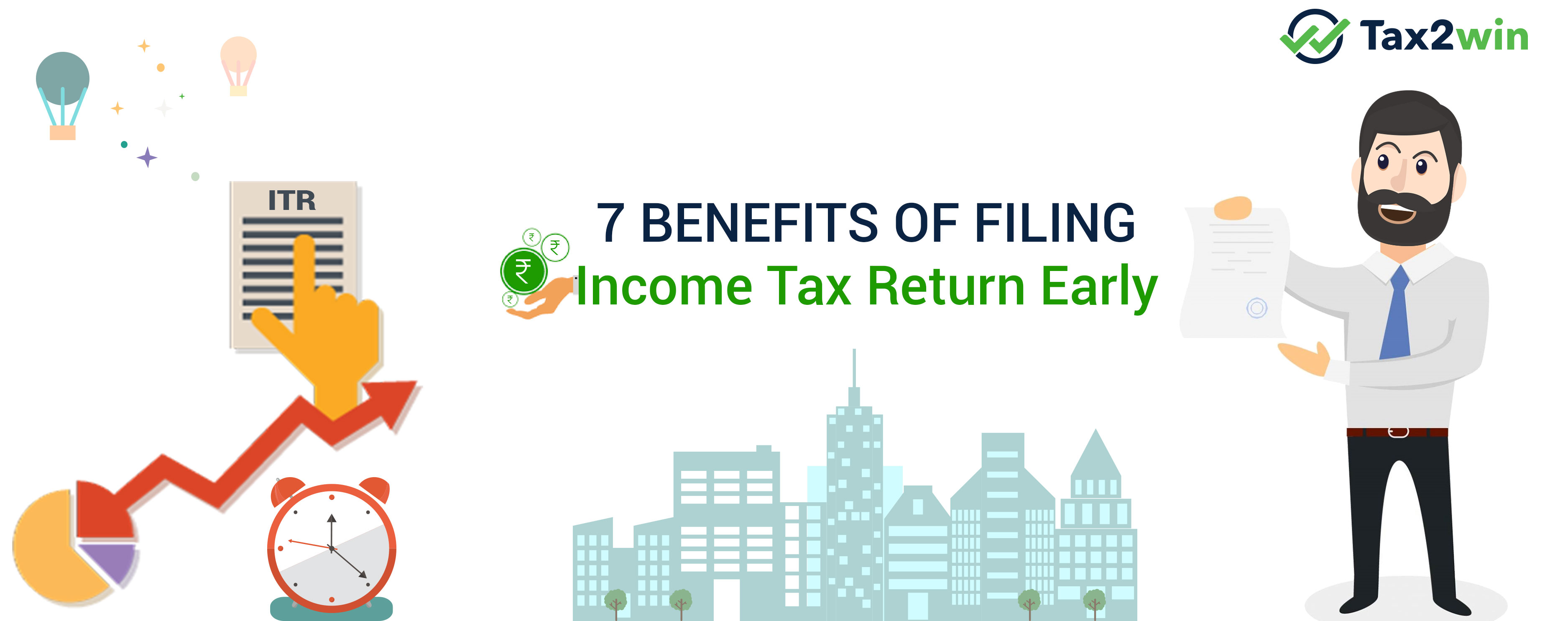 benefits of filing your income tax Even if you make no money, you should file a tax return each year if you do not file your taxes you cannot get government benefits such as the following.