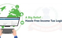 A Big Relief : Hassle Free Income Tax Login Process