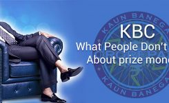 KBC, What People Don't Know about prize money?