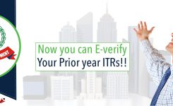 Opportunity to e-verify your Prior year ITRs