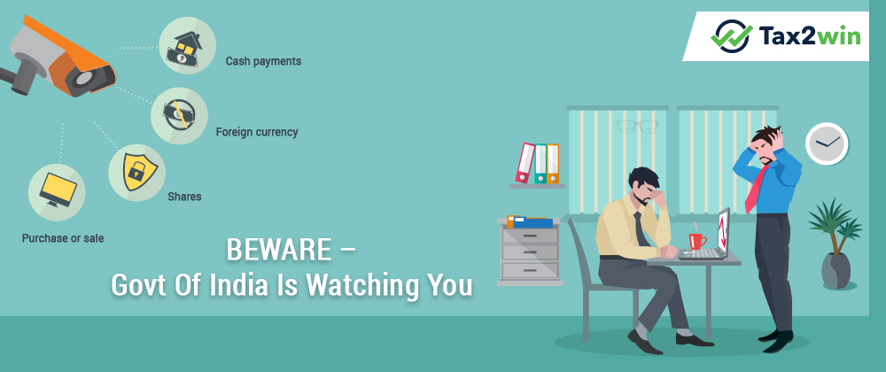 BEWARE – Govt of India is Watching You