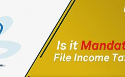 Is It Mandatory to file Income Tax Return?
