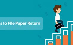 Four Easy Steps towards Filing Paper Income Tax Return