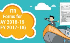 ITR forms for AY 2018-19 (FY 2017-18)