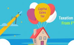 Taxation on the Long term Capital Gain from 1st April 2018