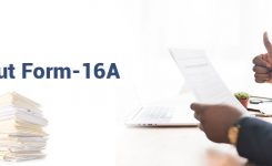 All About Form 16A