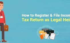 How to Register & File Income Tax Return as Legal Heir?