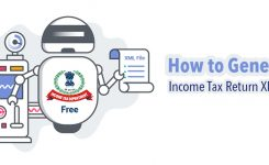 How to Generate your Income Tax Return XML file for free ?
