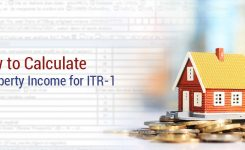 How To Calculate House Property Income for ITR 1