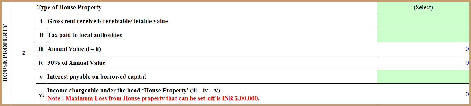 How to file ITR 1 with Rental Income form
