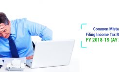 Common Mistakes In Filing Income Tax Return | ITR FY 2018-19 (AY 2019-20)