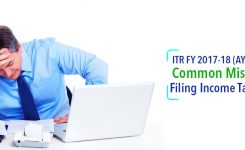 Common Mistakes in Filing Income Tax Return | ITR FY 2017-18 (AY 2018-19)