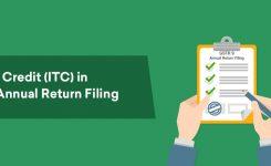Input Tax Credit (ITC) in GSTR 9 Annual Return Filing