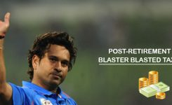 Post-retirement Sachin Tendulkar blasted Tax Liability!