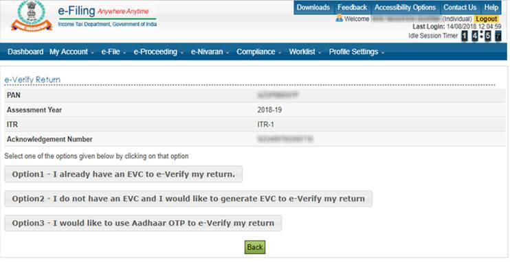 EVC modes
