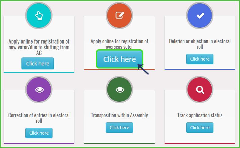 NRI apply online for voter ID