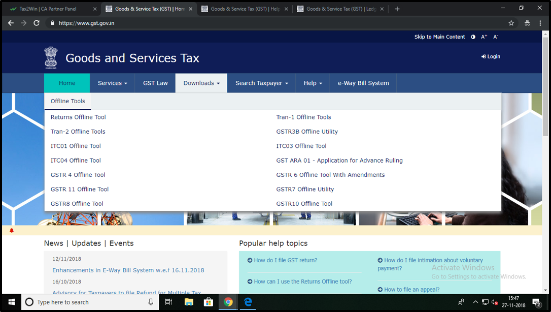 How to Download Offline GST Tools?