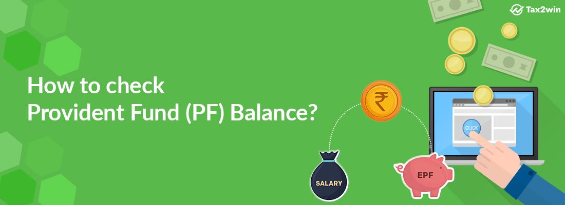 Check Provident Fund Balance