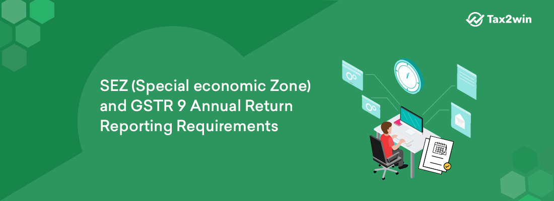 SEZ and GSTR 9 Annual Return reporting requirements
