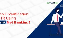 How to E-verify ITR through Kotak Mahindra Net Banking?