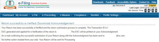 E-verify through HDFC