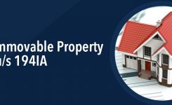 Sale of immovable property – 1% TDS u/s 194IA