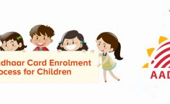 Aadhaar Card enrolment process for children
