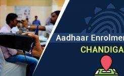 Aadhaar Enrollment Center in Chandigarh