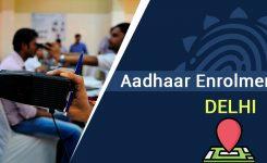 Aadhaar Enrolment Centres in Delhi