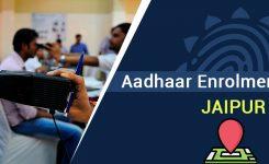Aadhaar Enrolment Centers in Jaipur