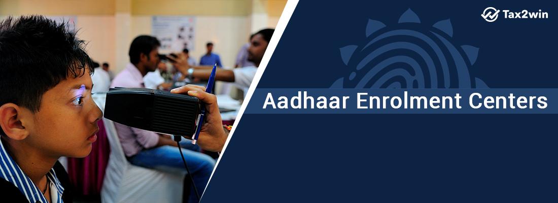 Aadhar Card Enrolment centers