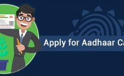 Aadhaar enrolment – Apply aadhaar card online