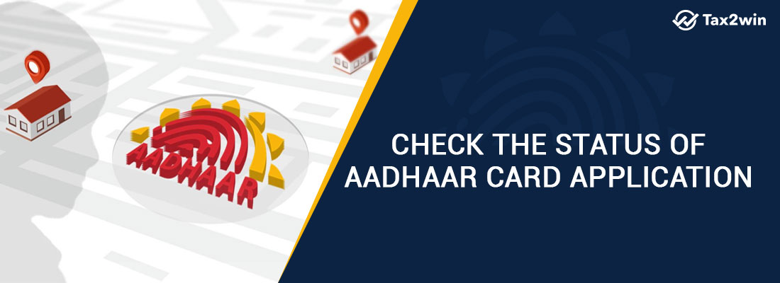 Check the status of aadhar card