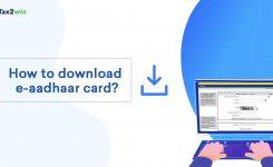 How to download e-aadhaar card online