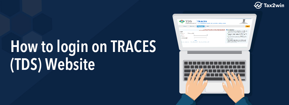 How to login on TRACES (TDS) website