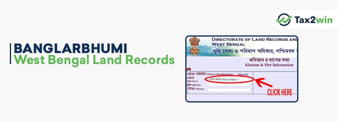 Banglarbhumi-West Bengal Land Records