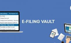 e-Filing Vault- Way to Secure Your Income Tax e-Filing Account
