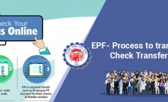 EPF -Process to Transfer Online, Check Transfer Status