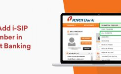 Steps to Add i-SIP URN Number in ICICI Net Banking