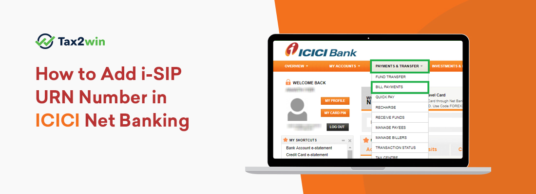 How-to-Add-i-SIP-URN-Number-in-ICICI-Net-Banking