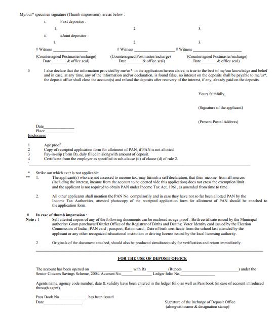Senior Citizen Saving Scheme (SCSS) - Tax2win