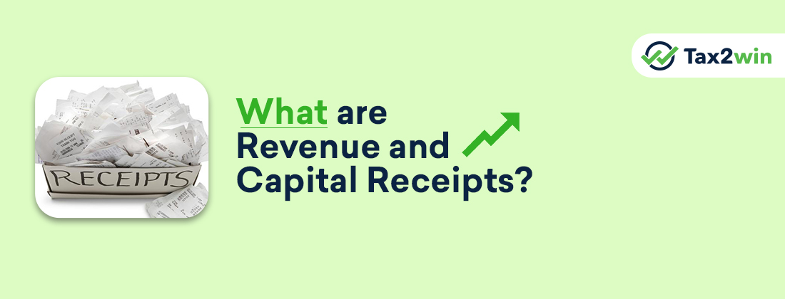 What Are Revenue Receipts And Capital Receipts?