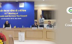 31st GST Council Meeting – Tax Rates Reduced,Date Extended