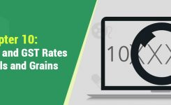 Chapter 10 : HSN Codes and GST Rates for Cereals and Grains